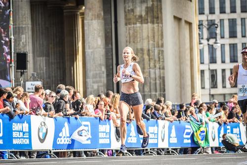 Catherine Watkins Berlin Marathon